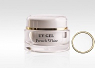 UV gel na nehty FRENCH WHITE 15ml