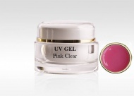 UV gel na nehty PINK CLEAR 15ml
