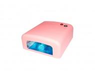 Zvětšit fotografii - UV lampa na nehty - růžová, hranatá