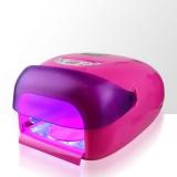 Zvětšit fotografii - Uv lampa na nehty LCD 36W - neon pink (sušička laku,senzor)
