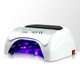 Zvětšit fotografii - LED lampa na nehty 48W - bílá