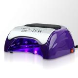 Zvětšit fotografii - LED lampa na nehty 48W - fialová