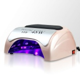 Zvětšit fotografii - LED lampa na nehty 48W - béžová