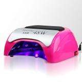 Zvětšit fotografii - LED lampa na nehty 48W - růžová