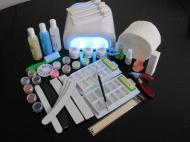 Zvětšit fotografii - Sada na nehtovou modeláž (č.2) sada pro modeláž gelových nehtů