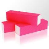 Leštící blok na nehty Neon - růžový