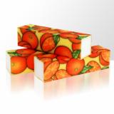 Leštící blok na nehty - pomeranče