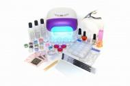 Zvětšit fotografii - Sada na gelové nehty č.7 - fialová UV lampa