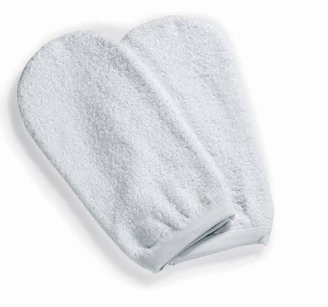 Froté rukavice na parafínové zábaly