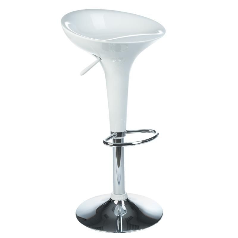 Barová stolička BX-1002 - bílá