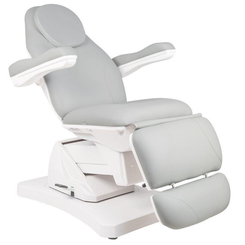 Kosmetické elektrické otočné křeslo BASIC 169 - šedé