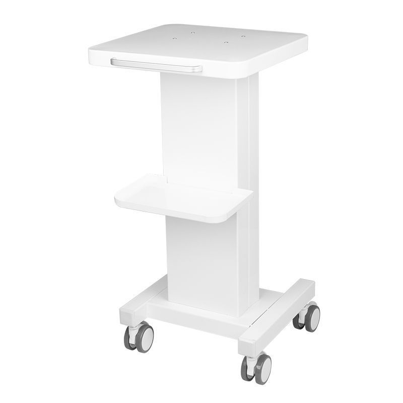 Pojízdný kosmetický stolek pro zařízení 090 - bílý