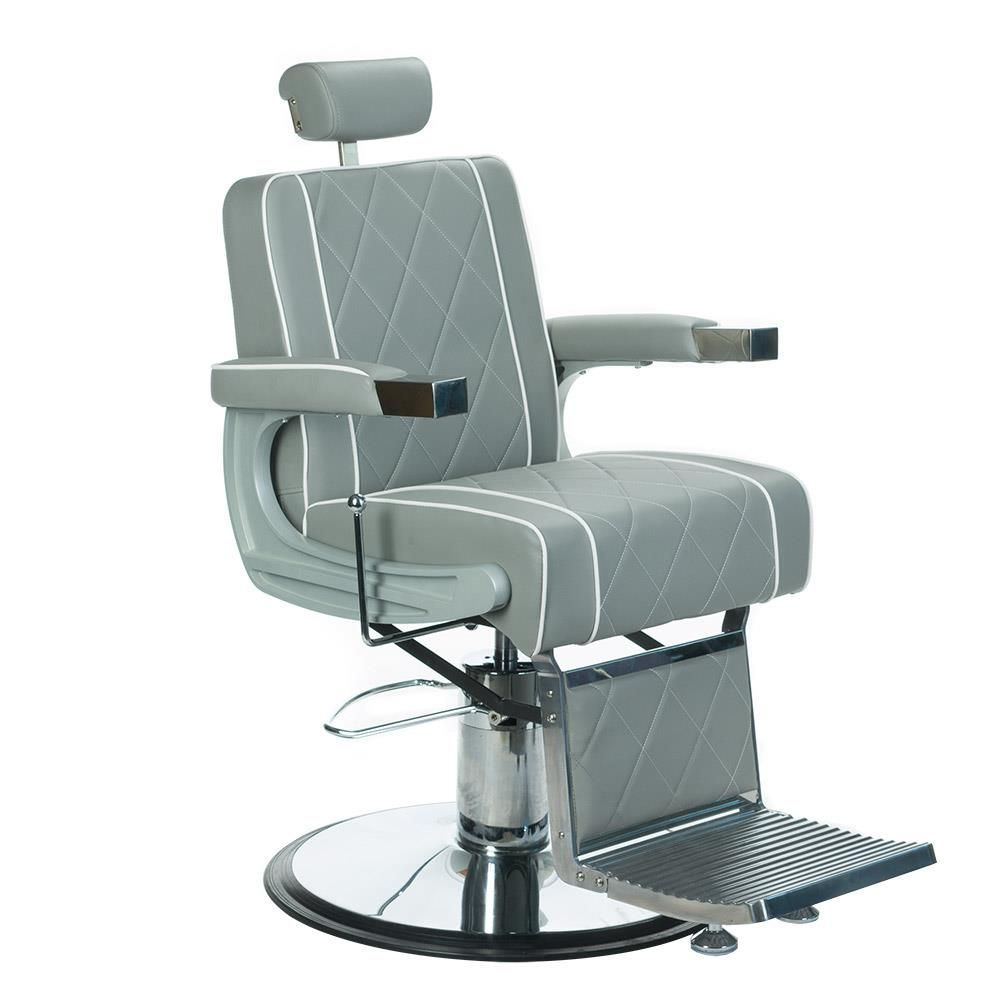 Barbers křeslo ODYS BH-31825M LUX šedé