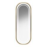 GABBIANO Kadeřnické zrcadlo s osvětlením ILLUMINATED B098  zlaté