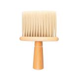 Kadeřnický oprašovač vlasů - dřevěná ručka