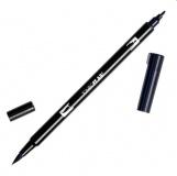 Oboustranné pero - TOMBOW černé (K)