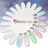 UV gely Magic,  Nehty-profesional.  cz