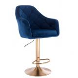 Barová židle ANDORA VELUR