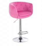 Barová židle MONTANA VELUR