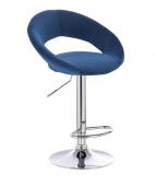 Barová židle NAPOLI VELUR