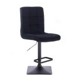Barová židle TOLEDO VELUR