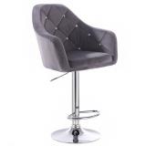 Barová židle ROMA VELUR