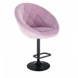 Barová židle VERA VELUR