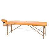 Masážní a rehabilitační skládací stůl BS-523 - pomeranč
