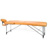 Skládací masážní a rehabilitační stůl BS-723 - pomeranč