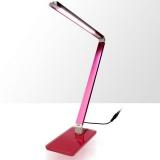 LED stolní lampa 4W - růžová