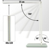 LED stolní lampa 4W, zlatá