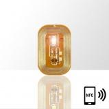 LED svítící dioda na nehty NFC - bílá