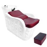 Kadeřnický mycí box GABBIANO Q-68109 bordo (AS)