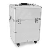 Kosmetický kufr GLAMOUR 9006 stříbrný (AS)