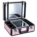 Kosmetický kufr GLAMOUR 9500K růžový (AS)