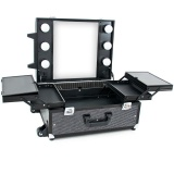 Kosmetický kufr GLAMOUR 9552 černý crystal (AS)