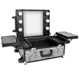 Kosmetický kufr GLAMOUR 9552 ZEBRA (AS)