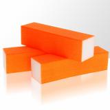 Leštící blok na nehty Neon - oranžový