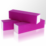 Leštící blok na nehty Neon - fialový