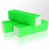 Leštící blok na nehty Neon - zelený