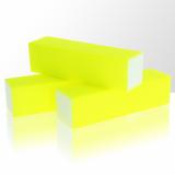 Leštící blok na nehty Neon - žlutý