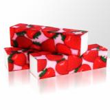 Leštící blok na nehty - jahody