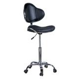 Kosmetická židlička s opěrkou BD-9933 černá