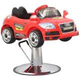 Kadeřnické křeslo pro děti autíčko červené (AS)