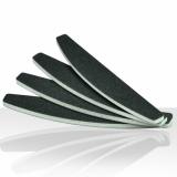 Pilník na nehty černý-loďka 100/180