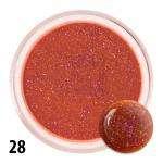 Barevný akryl na nehty č.28