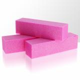 Leštící blok na nehty - růžový