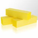 Leštící blok na nehty - žlutý