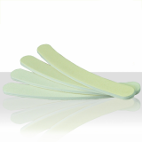 Pilník na nehty bílý - banán 100/180
