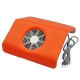 Profesionální odsávačka nehtového prachu - oranžová